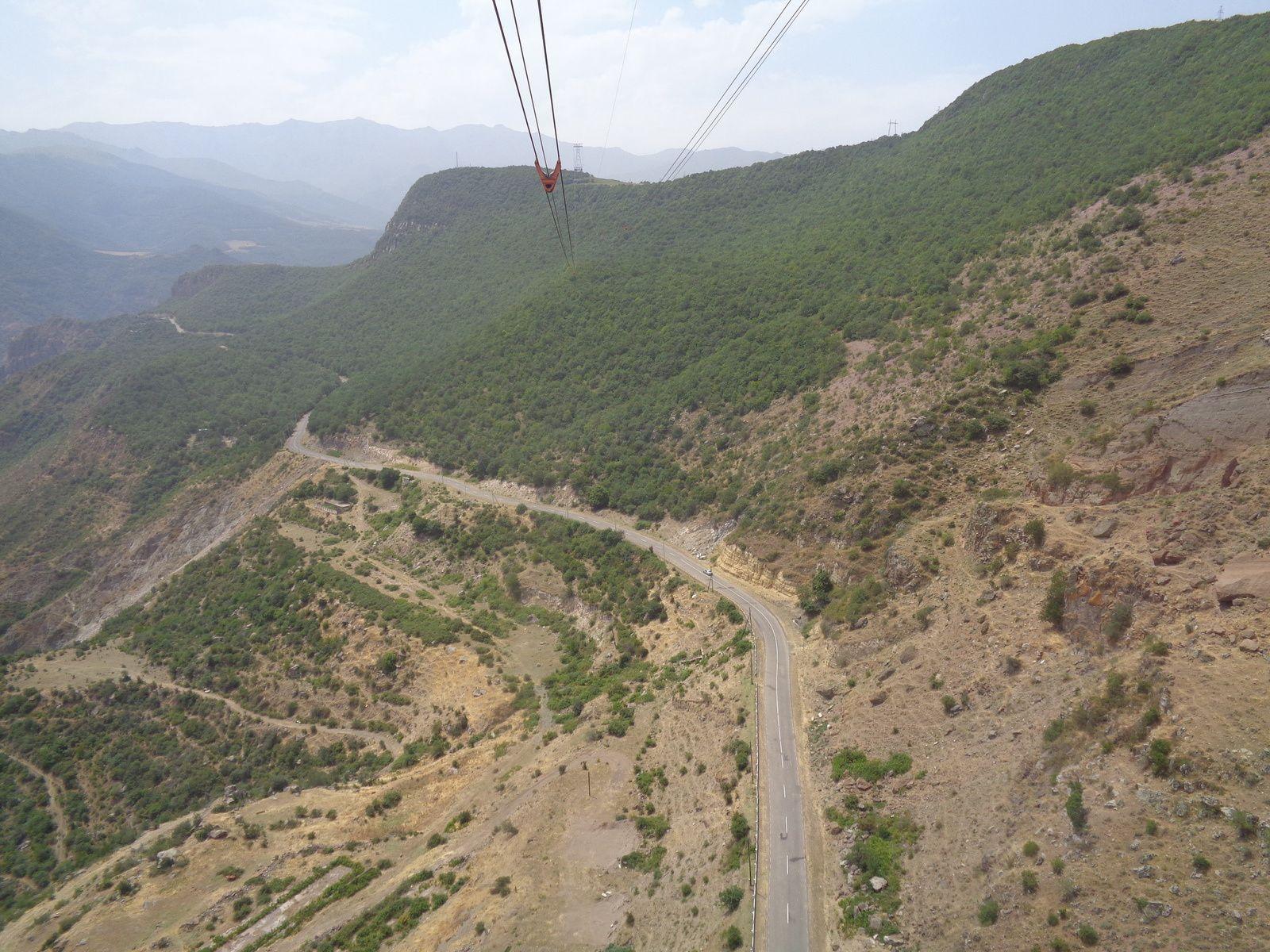 Arménie 2018 - Région du Syunik : le téléphérique le plus long du monde