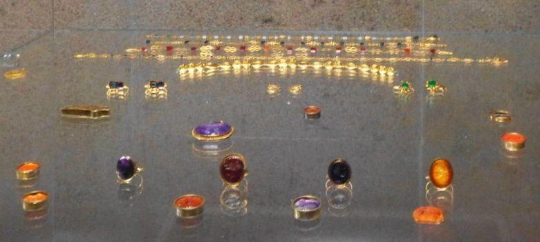 Bijouterie romaine - Or et gemmes - Du 2e au 4e siècle