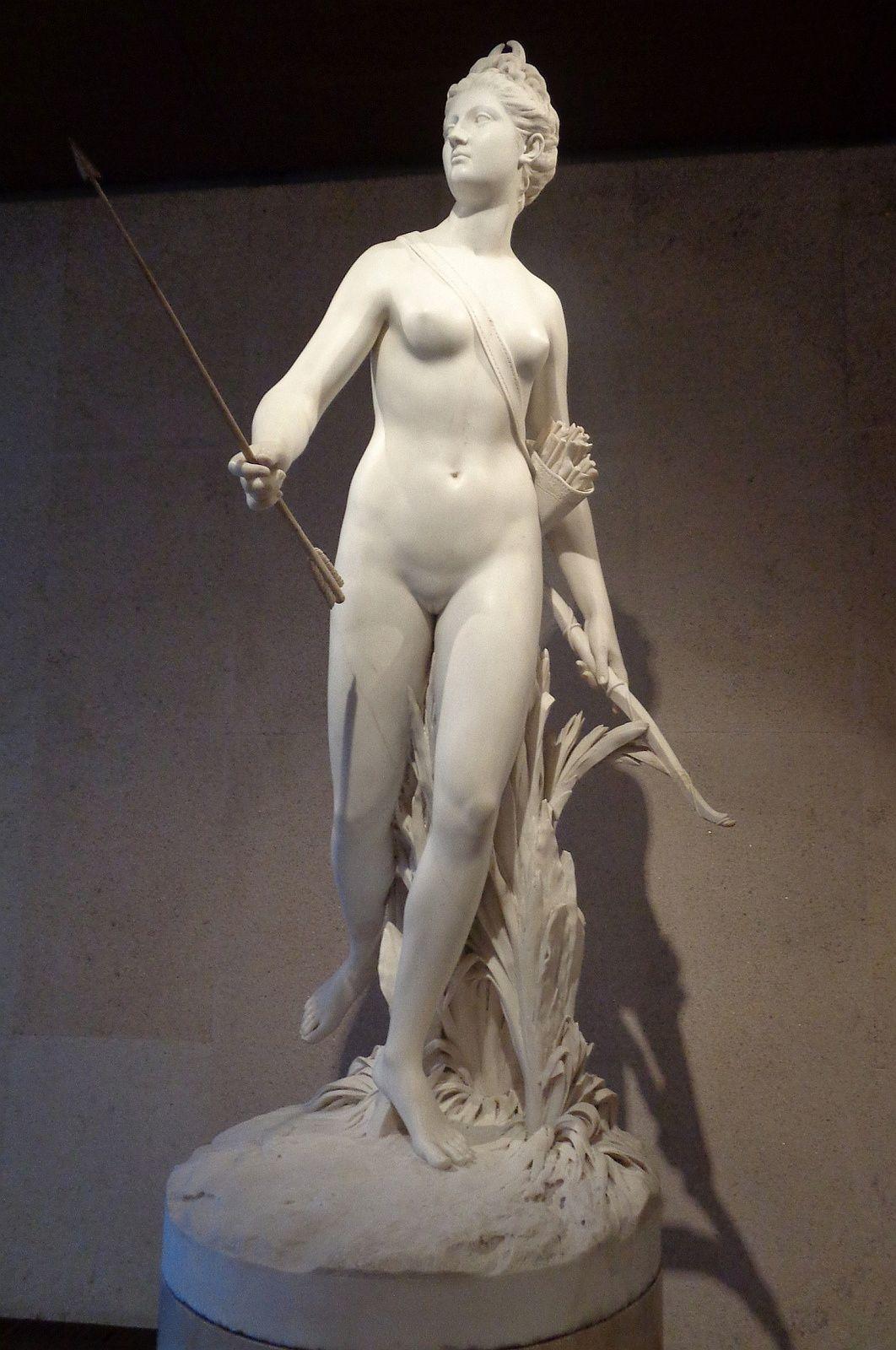 Diane - Jean-Antoine Houdon, 1790