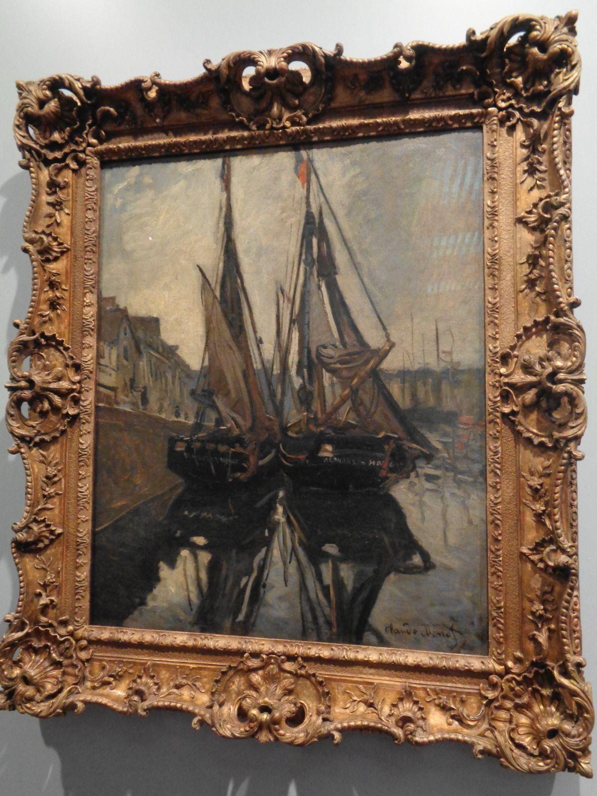 Bateaux - Claude Monet, 1868