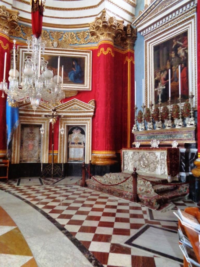 Malta - Falaises de Dingli et Dôme de Mosta