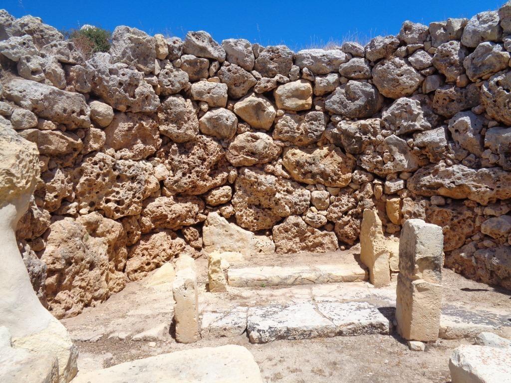 Malte - Gozo : le site de Ġgantija