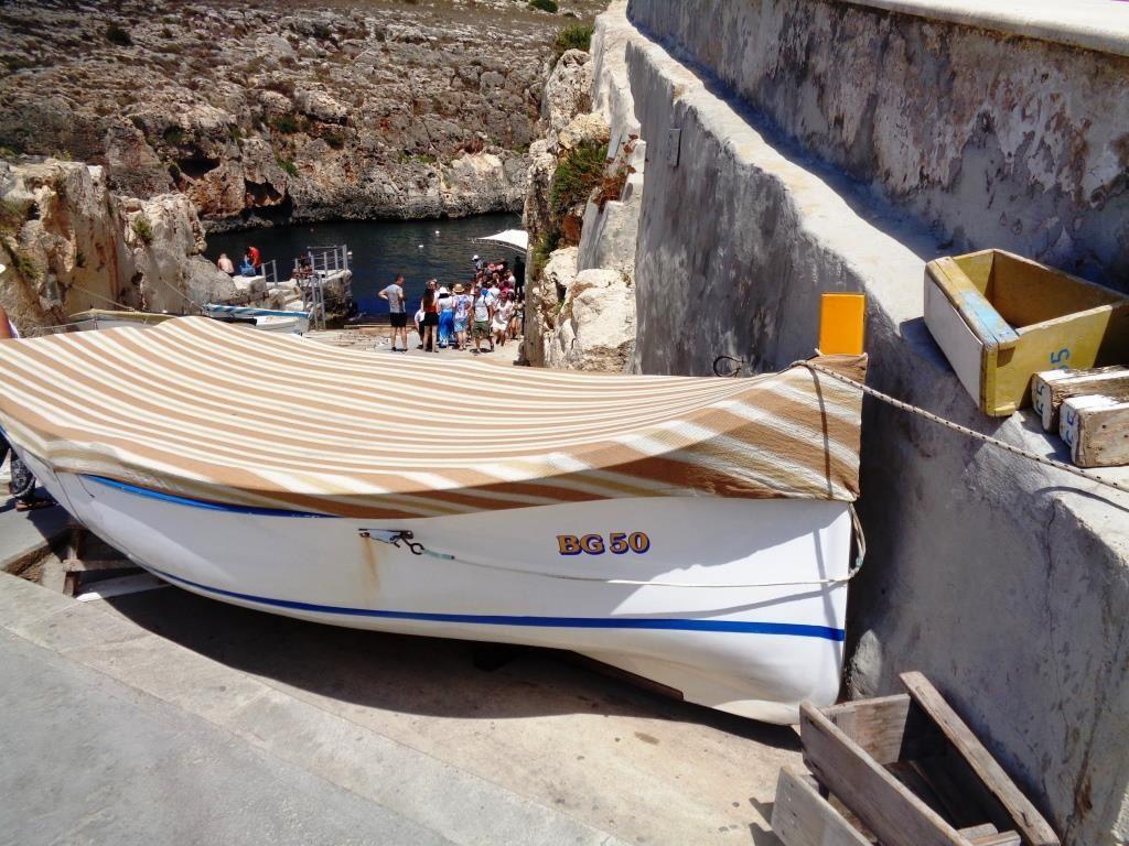 Malte -  La Grotte bleue et Marsaxlokk