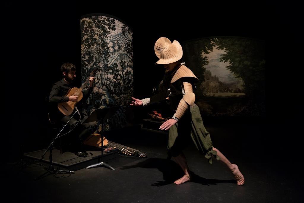 Romances inciertos - François Chaignaud/Nino Laisné - Maison de la Danse