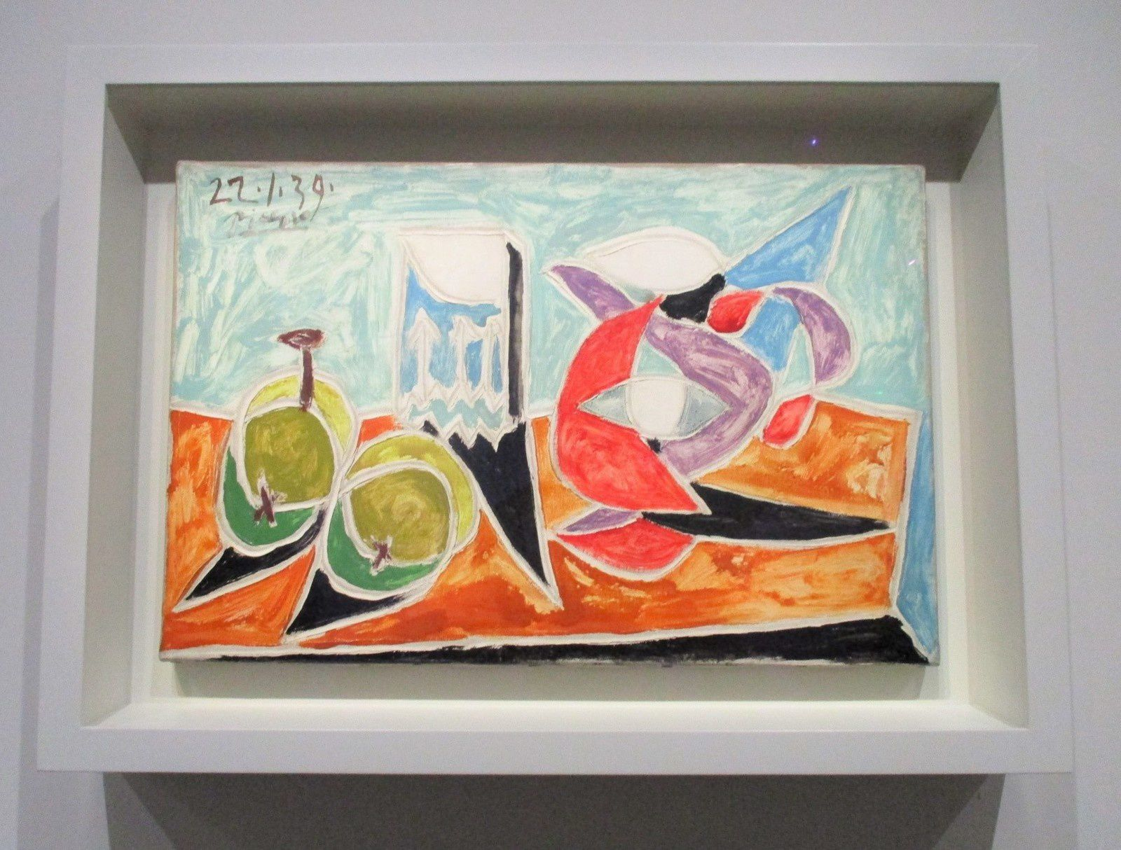 Nature morte : fruits et pots - Pablo Picasso, 1939