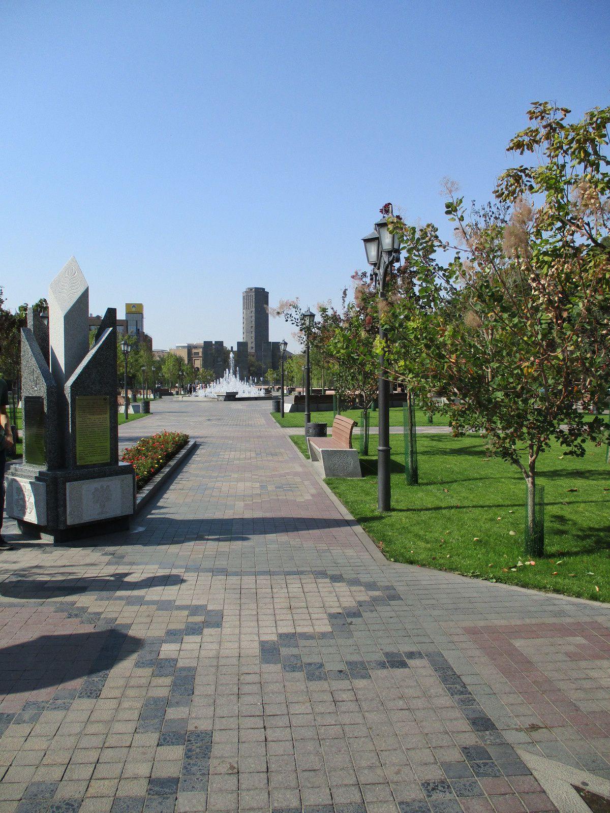 Arménie - Une promenade du dimanche à Yerevan