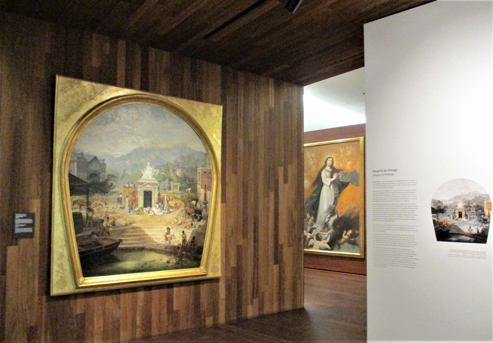 Màlaga - Le Musée de Màlaga, avec un concert