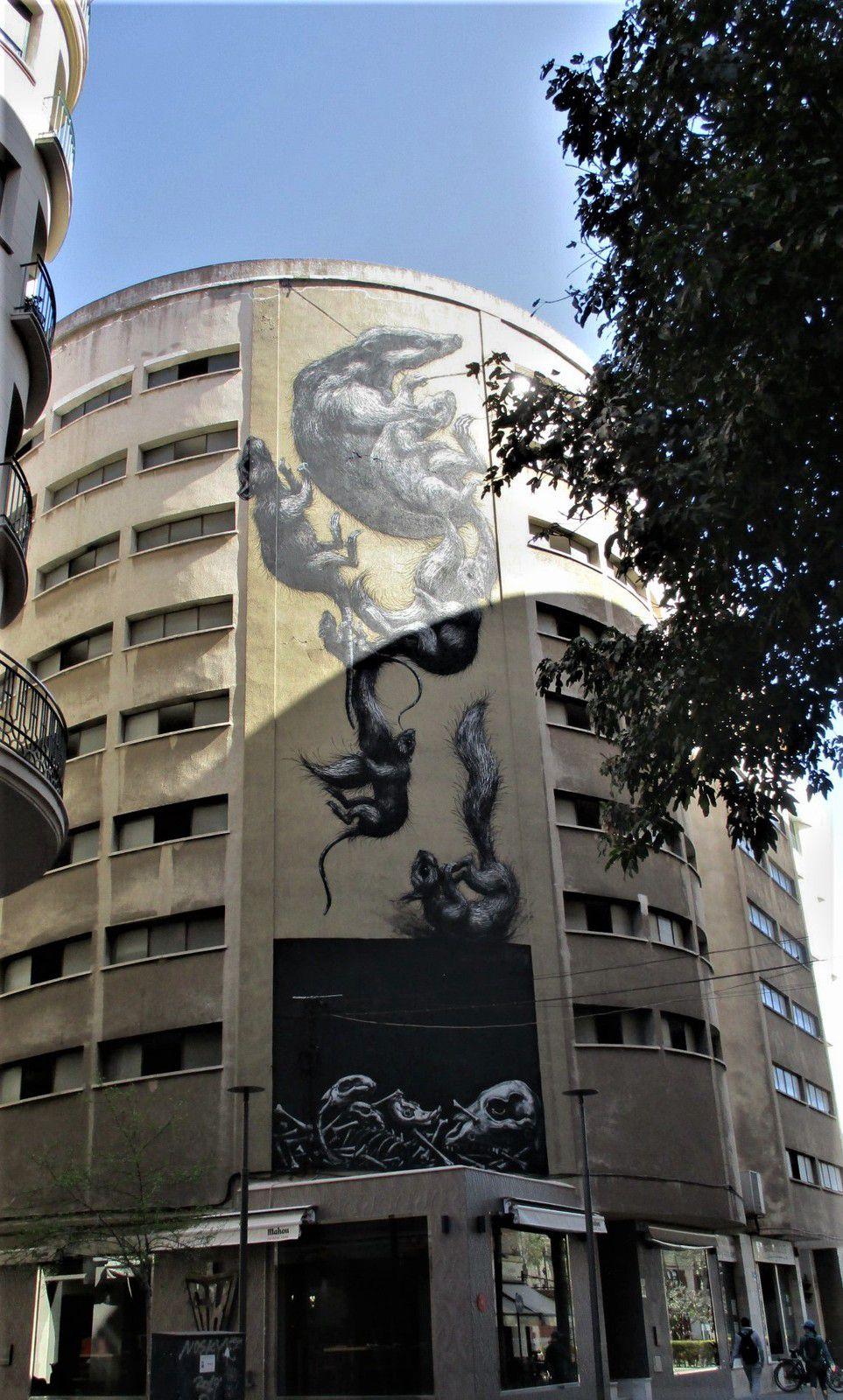 """Màlaga - Art de rue dans le quartier dit """"Soho"""""""