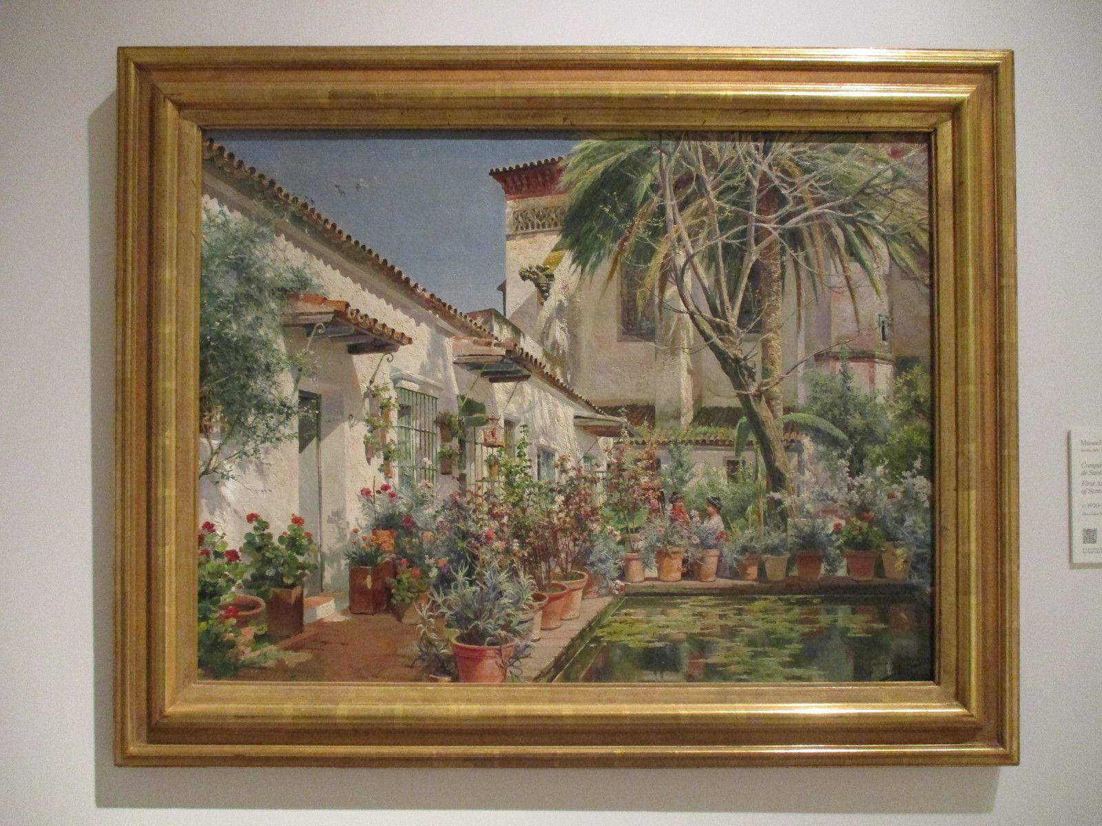 Atrium du Couvent Santa Paula - Manuel Garcia Rodriguez, 1925