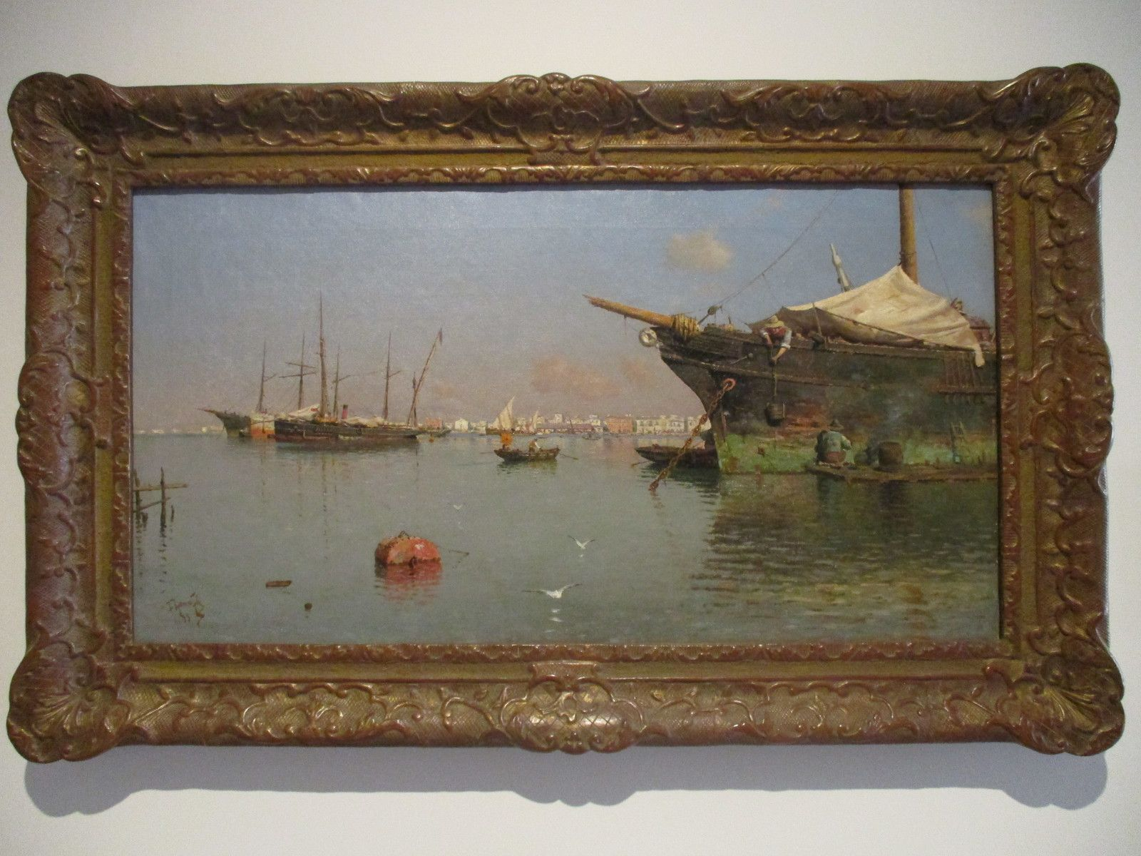 Port - Guillermo Gomez Gil, 1899