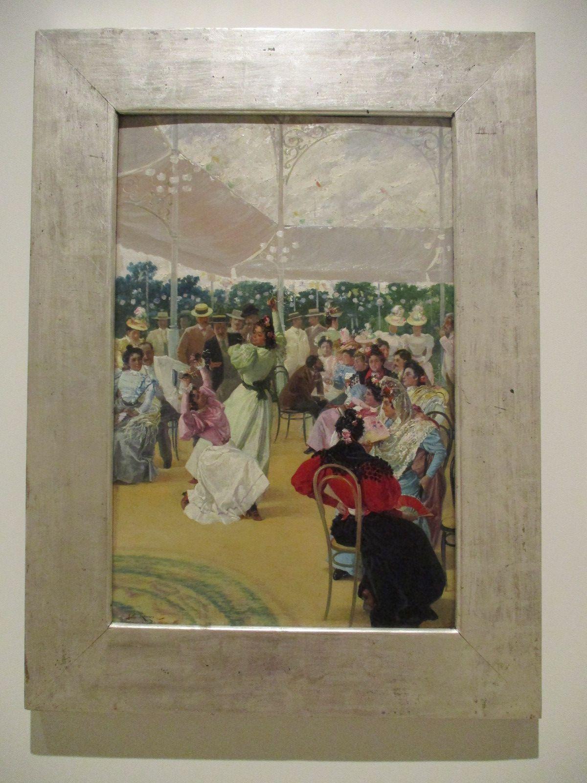 La foire de Cordoue - Julio Romero de Torres, 1900