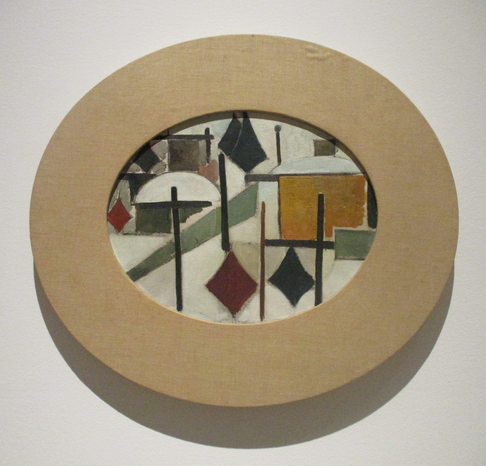 Composition ovale - Theo von Doesburg, 1931