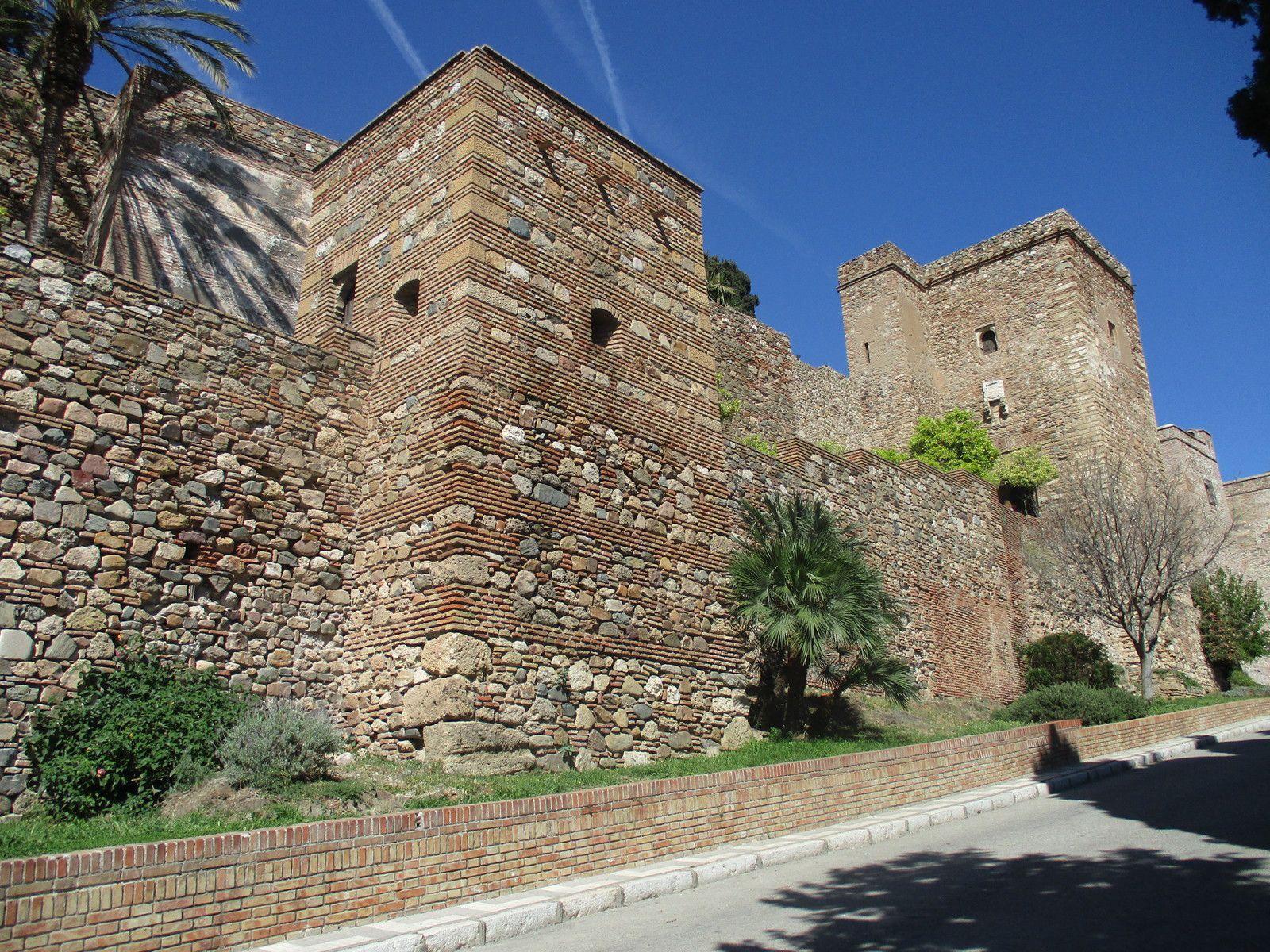 Màlaga - Le château de Gibralfaro et la Farola