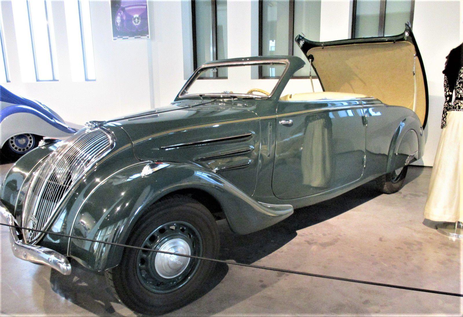 """Peugeot """"Eclipse"""" à toit rétractable, 1937"""