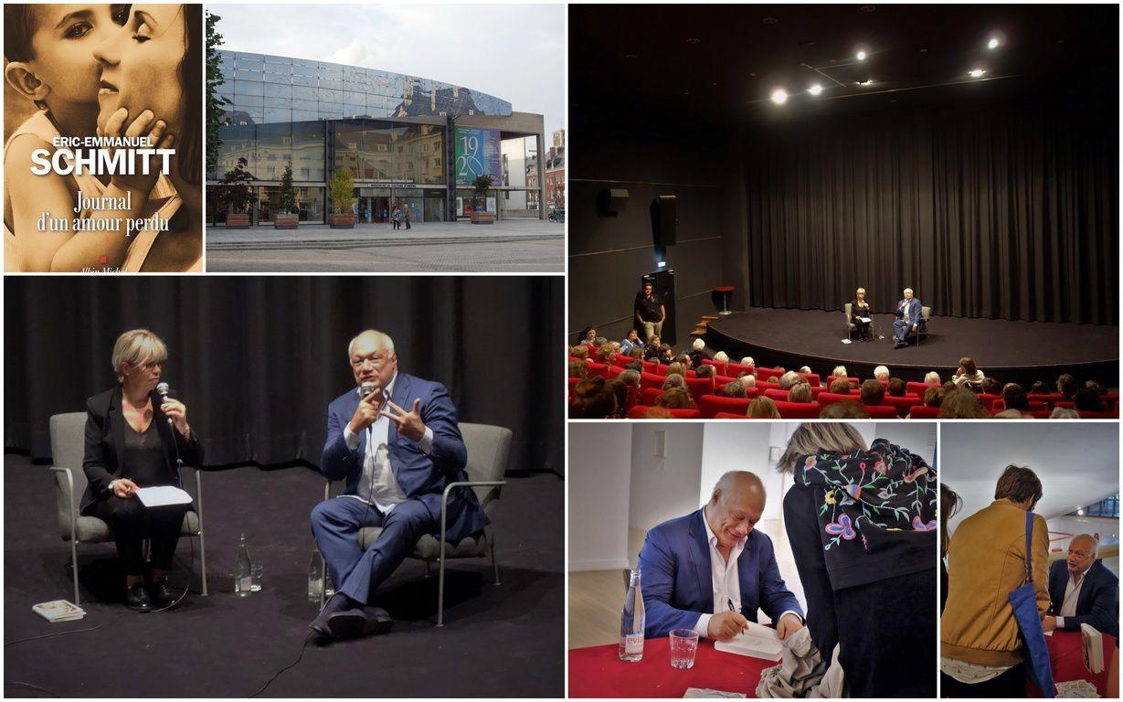 Éric-Emmanuel Schmitt à la Maison de la Culture d'Amiens