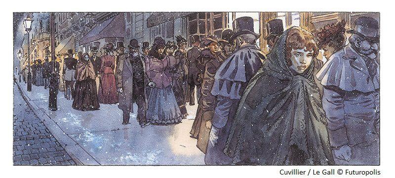 Mary Jane sortie de l'oubli par Franck Le Gall et Damien Cuvillier