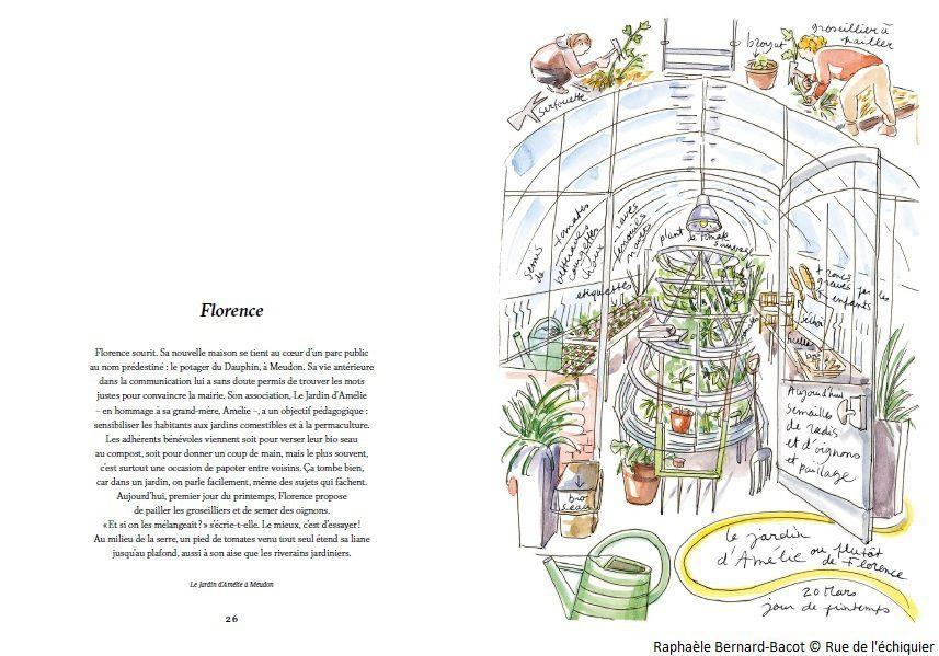 Lecture : Jardiniers des villes de Raphaèle Bernard-Bacot