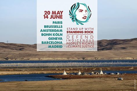 Stand up with Standing Rock (tournée européenne)