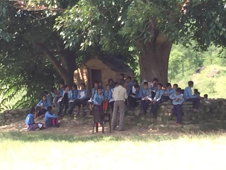 Projet Nepal - soutien à l'instruction des enfants d'une école