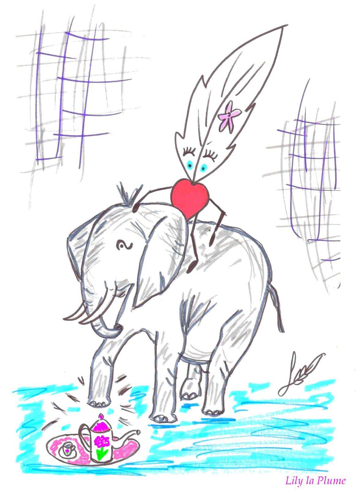 Chut ... L'Eléphant