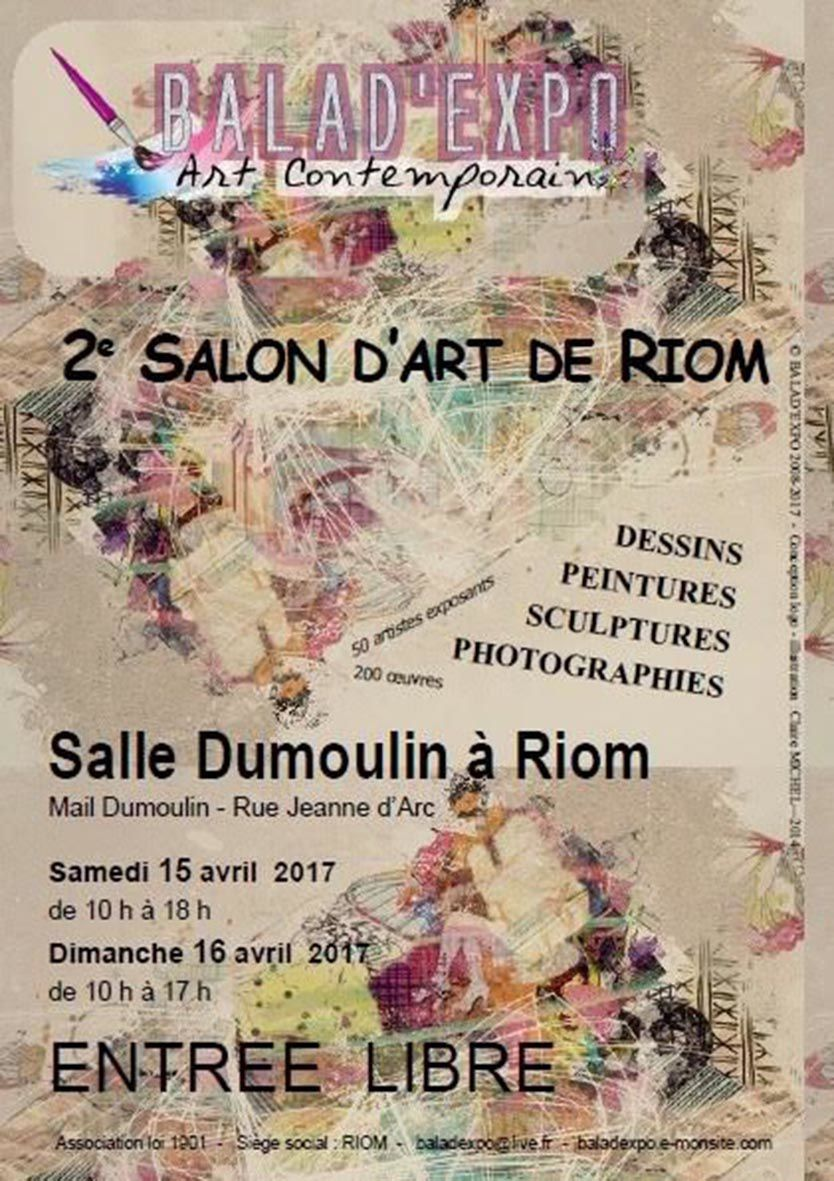 Salon Balad'Expo à Riom 15 et 16 avril 2017 - Flo.M