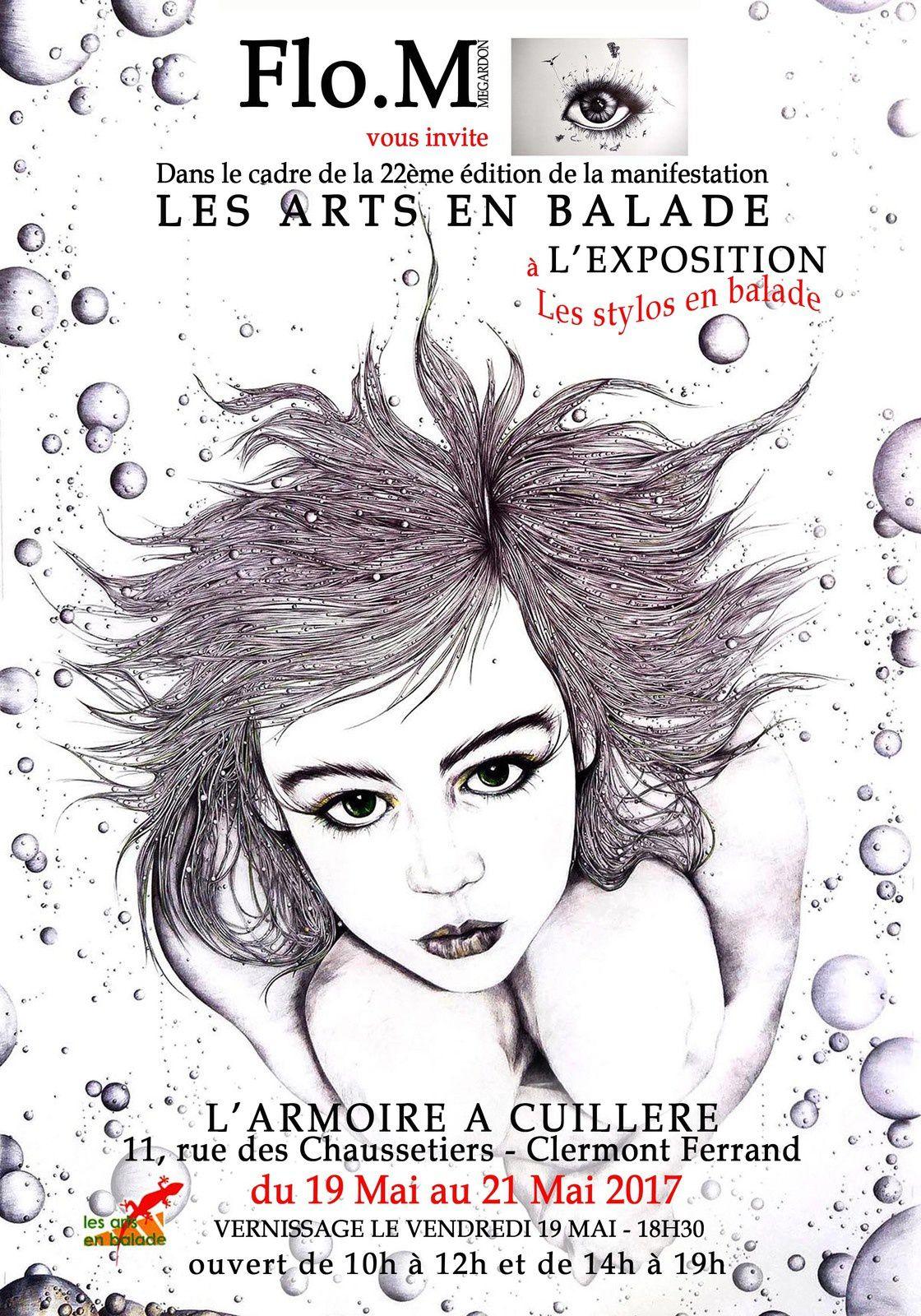 LES ARTS EN BALADE 2017  AVEC FLO.M