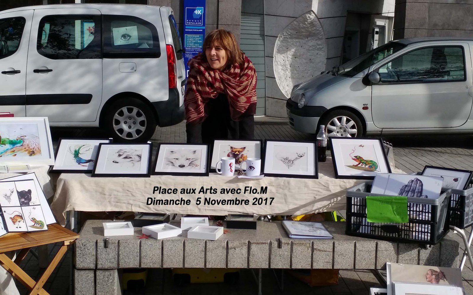 place aux arts-exposition-clermont ferrand-dessin stylo bille-flom