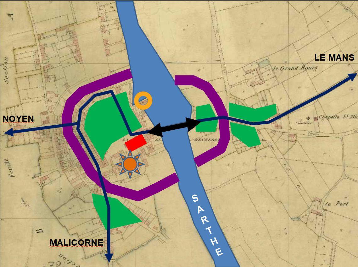 Topographie religieuse dans trois communes de la région de La Suze