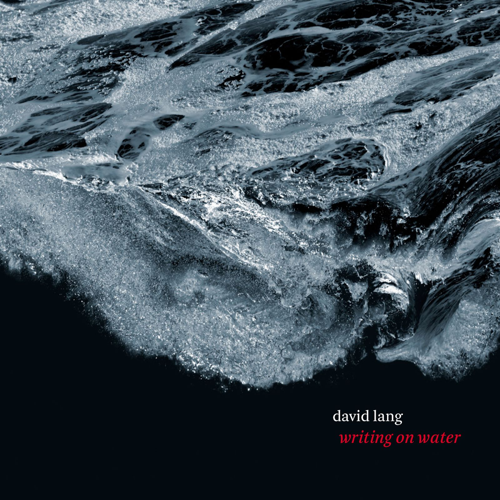 David Lang - writing on water