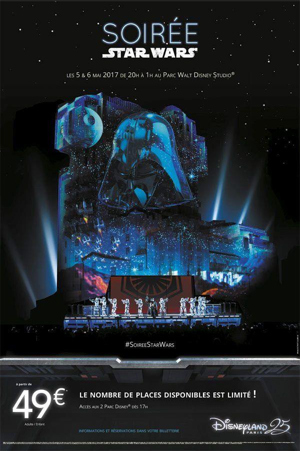 Les Soirées Star Wars Bientôt à Disneyland Paris