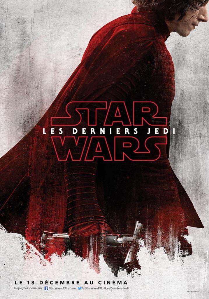 """Les Derniers Jedi : Affiches séries """"Rouge"""" en VF"""