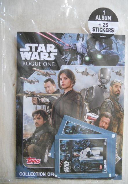 Stickers Topps over Rogue L'album De Starwars Fandefrance One 6vYfgyIb7