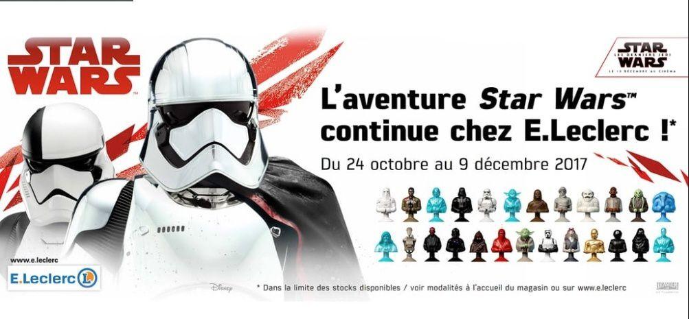 L'Opération Star Wars - Leclerc 2017 : ça commence