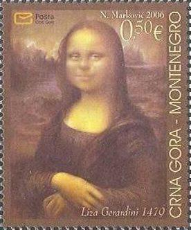 Figure 40 - Monténégro 2006,  YT 141 né de l'imagination du peintre Fernando Botero.