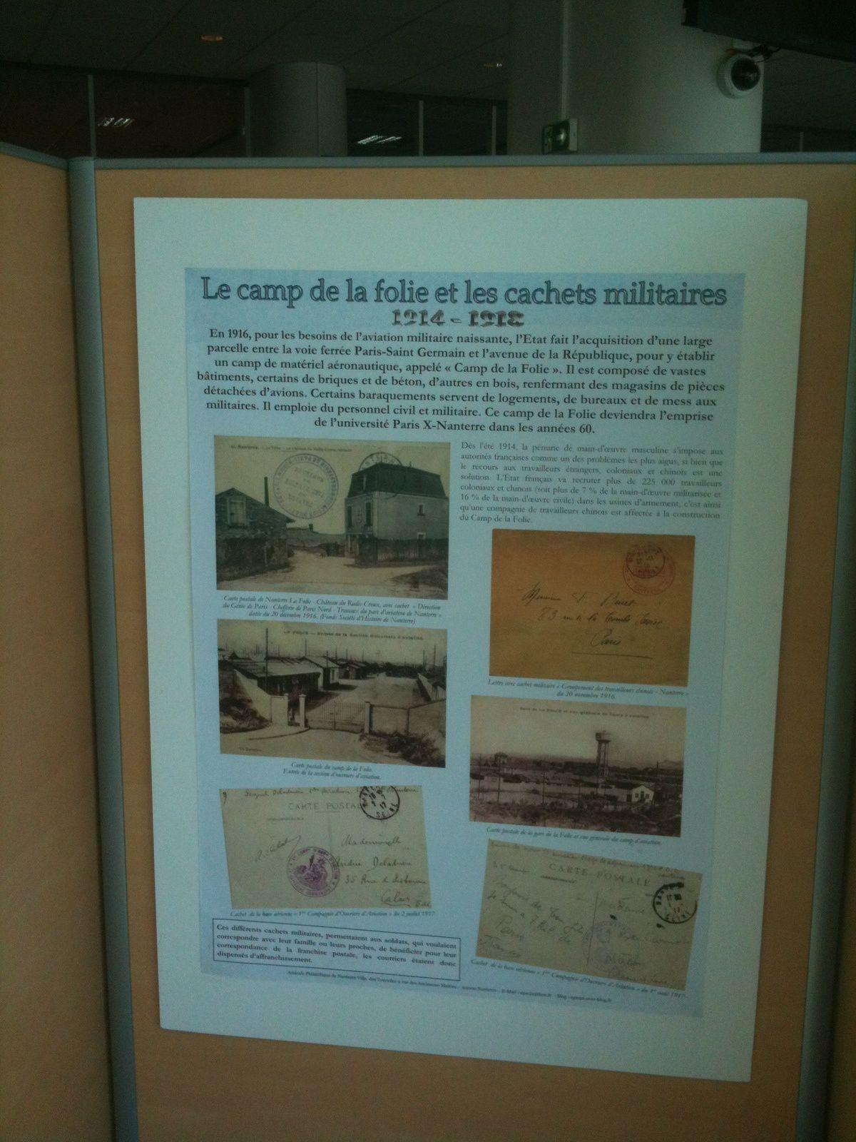 """L'inauguration du nouveau bureau de poste """"Seine Arche"""" à Nanterre"""