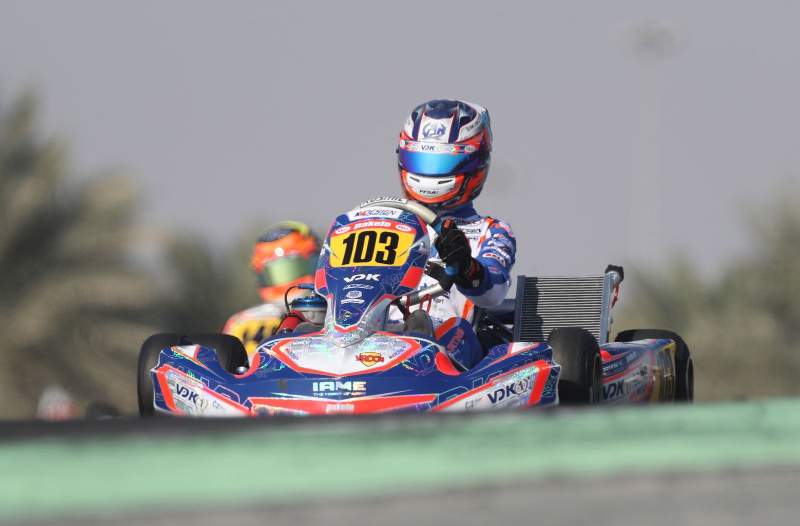 Victor Martins: champion du monde OK Junior 2016