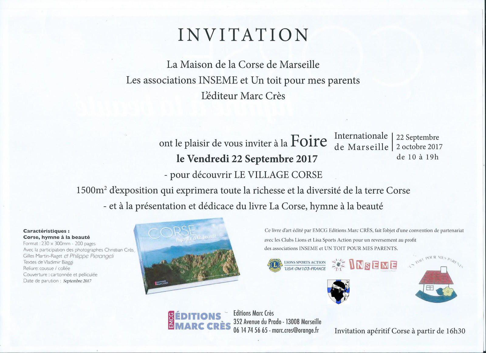 La Corse présente à Marseille