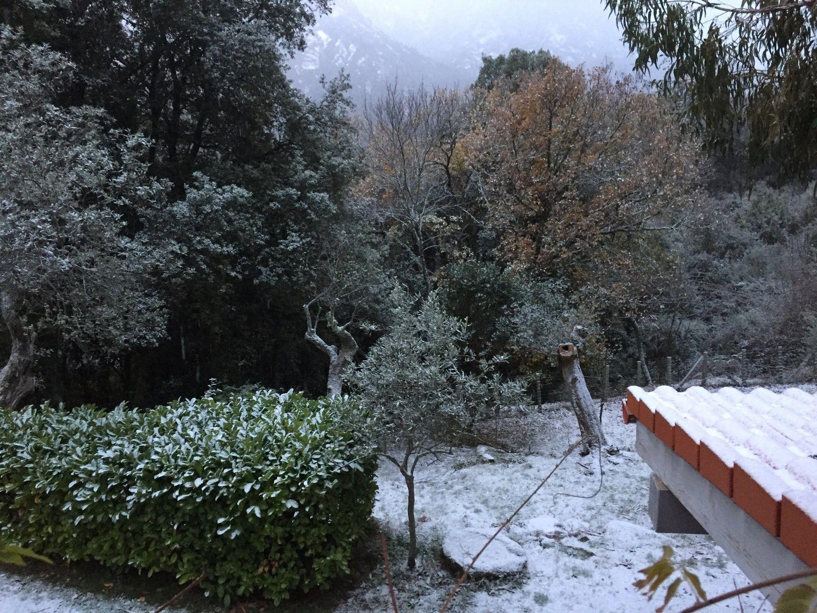 La neige est arrivée