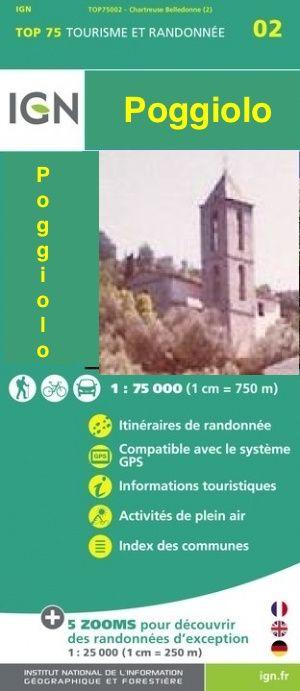 Connaissez-vous le guide touristique de Poggiolo? La carte des merveilles poggiolaises.