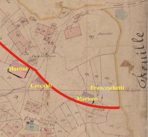 Les maisons poggiolaises- 4: les notables et les routes
