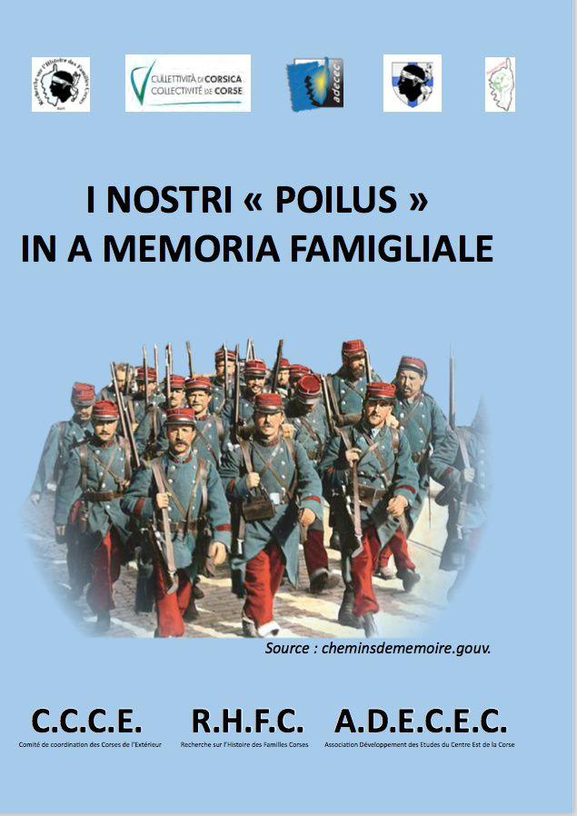 """Mémoire des """"poilus"""" corses"""