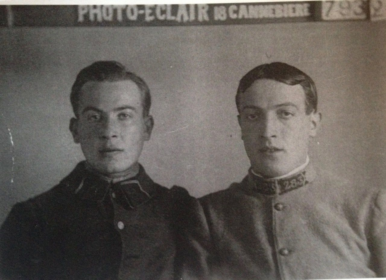Solution de la devinette du mois: deux soldats sur une photo centenaire