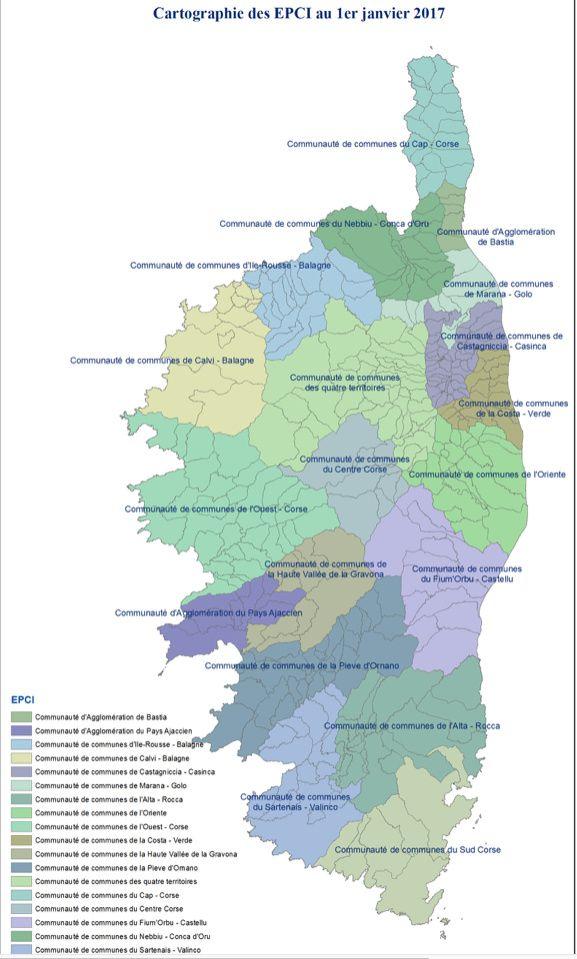 La communauté de communes de l'ouest corse se nomme maintenant communauté Spelunca-Liamone
