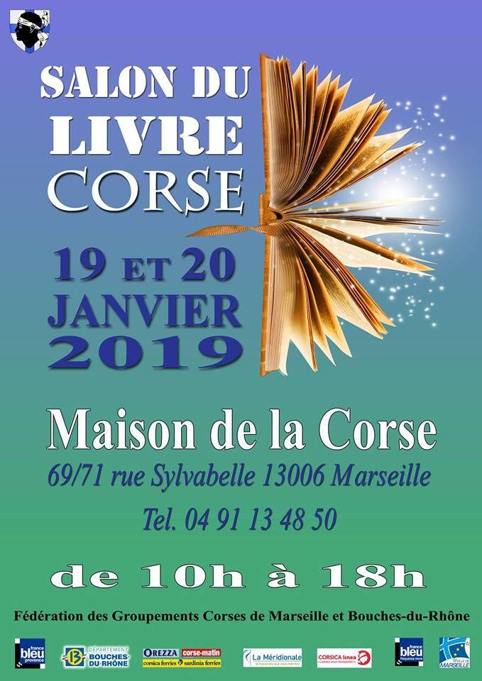 Un événement: le salon du livre corse à Marseille