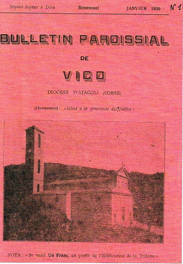 """Image extraite de """"Vico Sagone, Regards sur une terre et des hommes"""""""