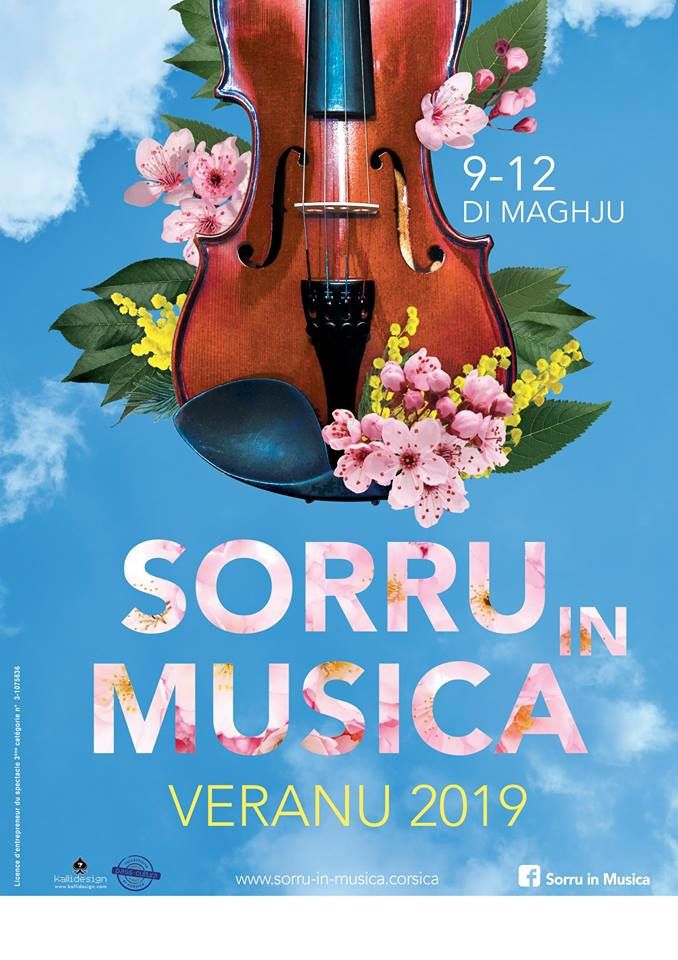 Sorru in Musica versions printemps et été