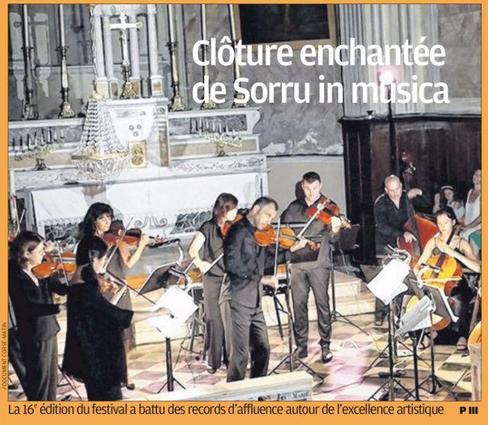 """""""Corse-Matin"""" mercredi 31 juillet"""