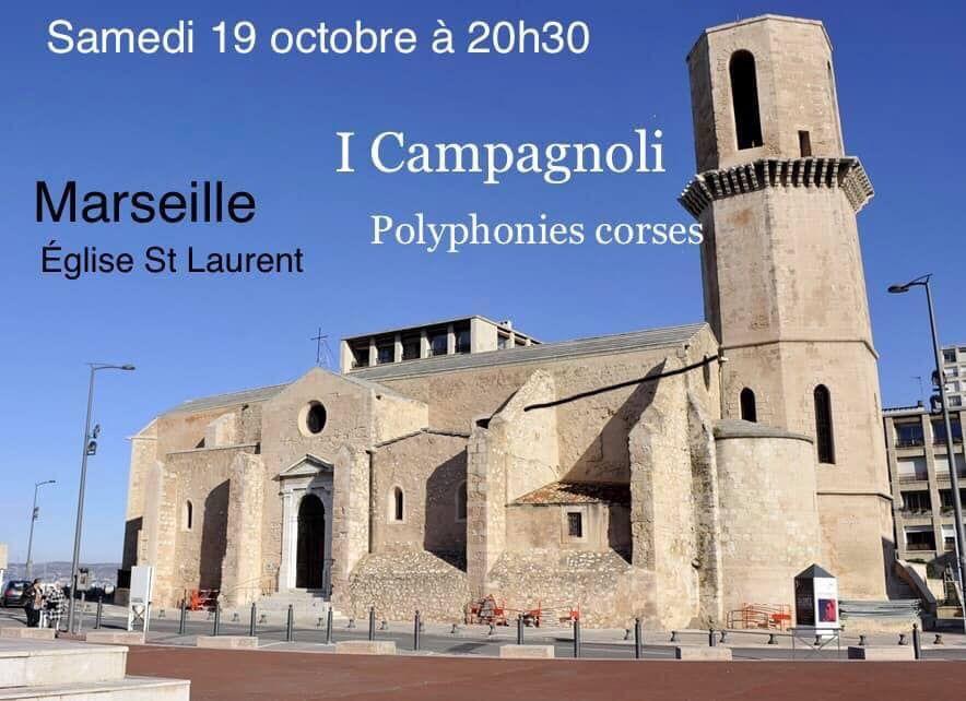 Polyphonies corses à Marseille le19 octobre
