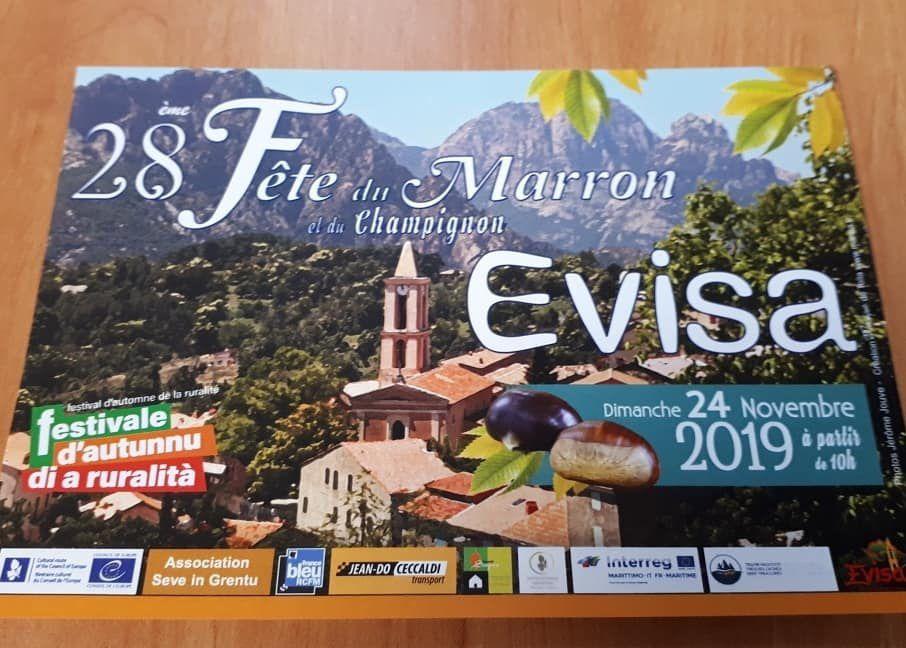 Le marron à Evisa dimanche