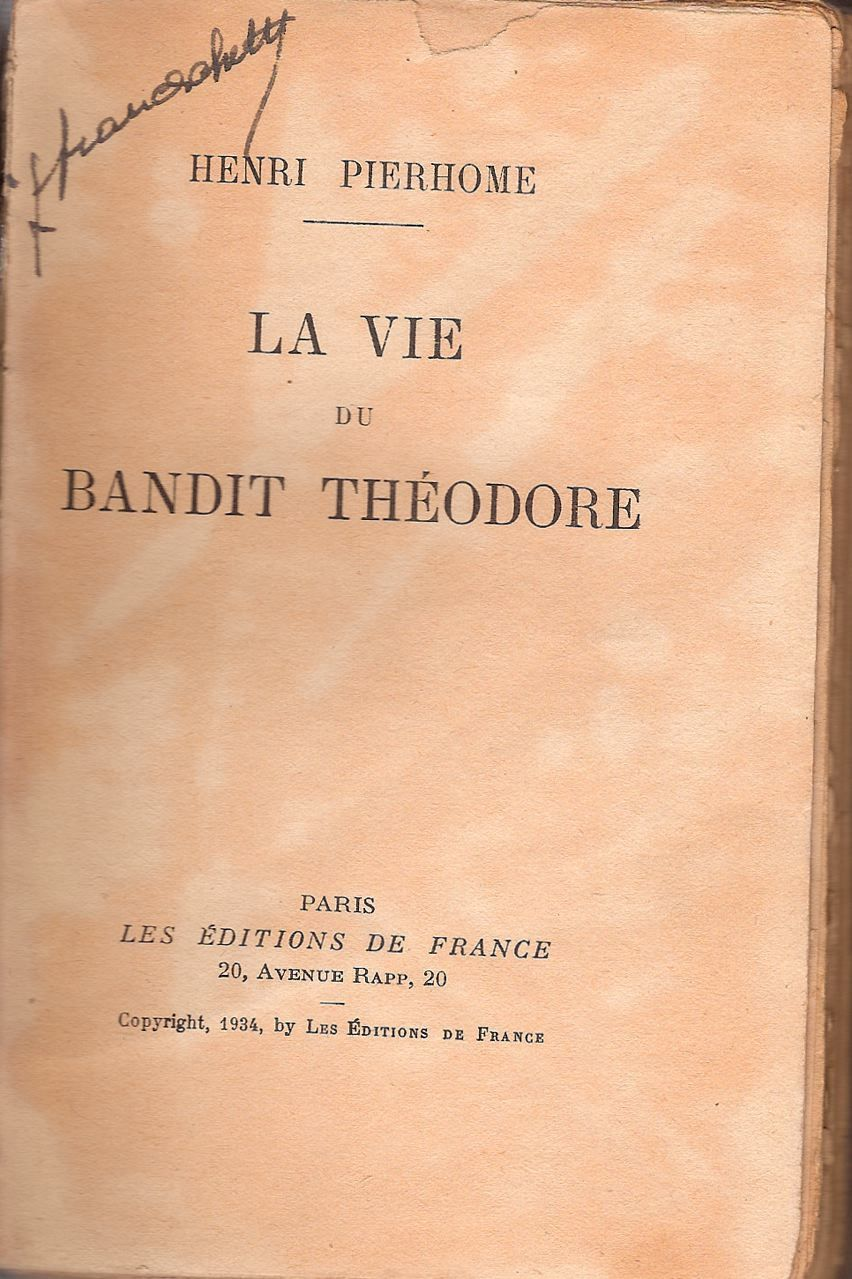 Les exploits de Théodore. N°1: le bourreau de Bastia